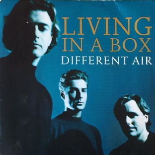 "Living In A Box ‎- Different Air (7"") (EX/VG-)"